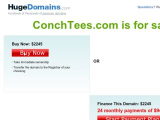 Shop at conchtees.com