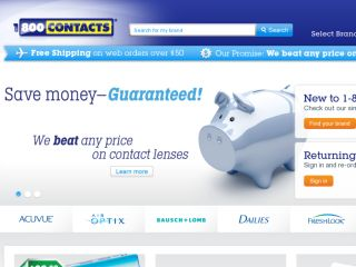 Shop at contacts.com