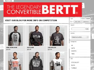 Shop at convertiblebertt.com