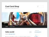 Browse Cool Card Shop