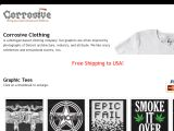 Browse Corrosive Clothing