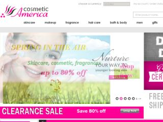 Shop at cosmeticamerica.com