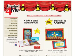 Shop at created4me.com