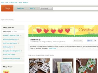 Shop at creativelily.etsy.com