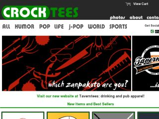 Shop at crocktees.com