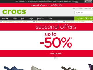 Shop at crocs.co.uk