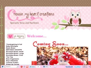 Shop at crossinmyheart.com