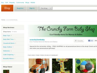 Shop at crunchyfarmbaby.etsy.com