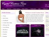Browse Crystal Creations Tiaras