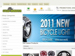 Shop at cyclomonster.com