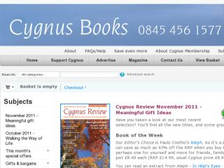 Shop at cygnus-books.co.uk