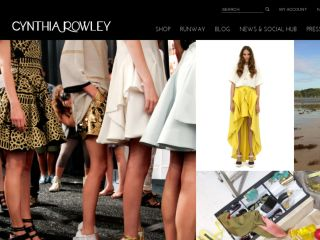 Shop at cynthiarowley.com