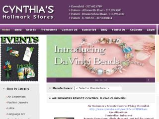 Shop at cynthiashallmarkstores.com