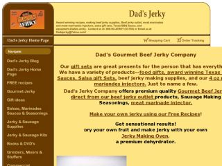 Shop at dadsjerky.com