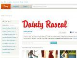 Daintyrascal.etsy.com Coupons