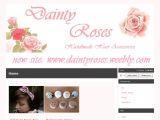 Daintyroses.bigcartel.com Coupons