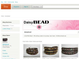 Shop at daisybead.etsy.com
