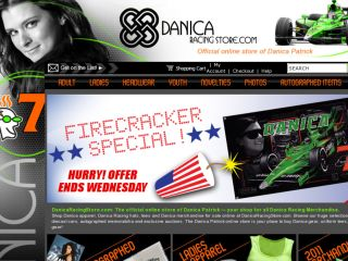 Shop at danicaracingstore.com