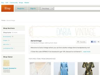 Shop at dariavintage.etsy.com