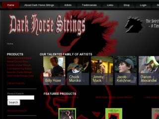 Shop at darkhorsestrings.com