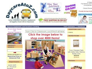 Shop at daycareatoz.com