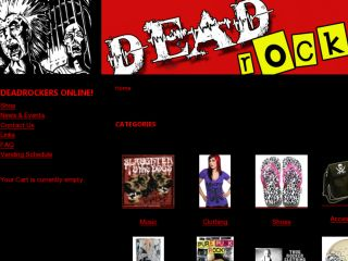 Shop at deadrockers.net