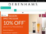 Debenhams Beauty Club Coupon Codes