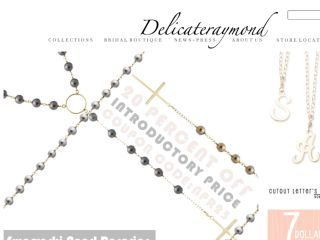 Shop at delicateraymond.com