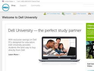 Shop at delluniversity.com