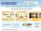 Browse Del Mar Fans & Lighting