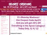 Delorescreations.com Coupon Codes