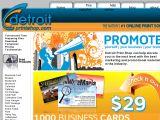 Browse Detroit Print Shop
