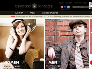 Shop at devoted2vintage.co.uk