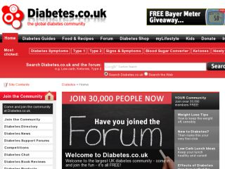 Shop at diabetes.co.uk