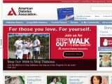 Browse American Diabetes Association