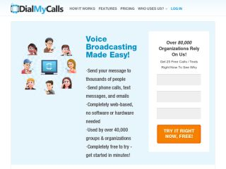 Shop at dialmycalls.com