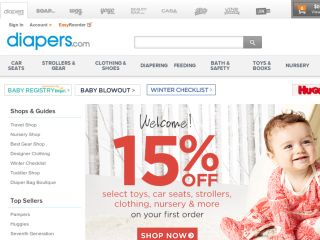 Shop at diapers.com