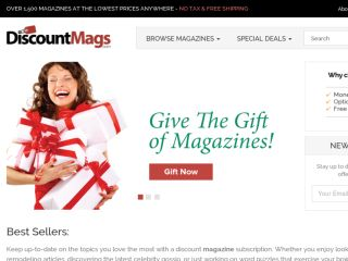Shop at discountmags.com