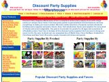 Browse Discount Party Supplies Favors