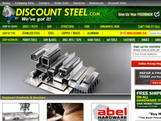 Shop at discountsteel.com