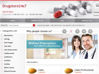 Shop at drugstore24x7.net