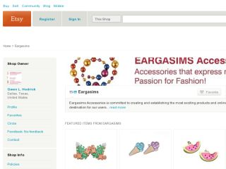 Shop at eargasims.etsy.com
