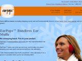 Browse Earpops Bandless Earmuffs