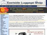 Browse Eastside Luggage Shop