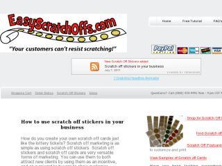 Shop at easyscratchoffs.com