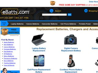 Shop at ebatts.com