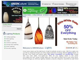 Shop at eco-lights.com