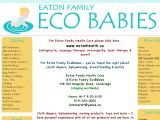 Browse Eaton Family Ecobabies