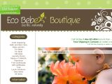 Browse Eco Bebe Boutique