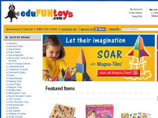 Shop at edufuntoys.com